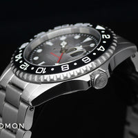 Ocean 1 GMT Premium Black Ceramic - Limited