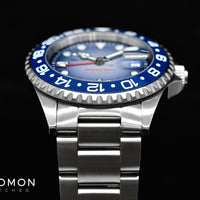 Ocean 1 GMT Premium Blue Ceramic - Limited
