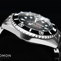 Ocean 1 Premium Black Ceramic - Limited