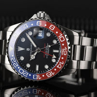 Ocean 39 GMT Blue/Red Ceramic