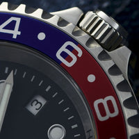 Ocean Forty Four GMT Blue/Red