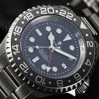 Ocean Forty Four GMT Black Ceramic
