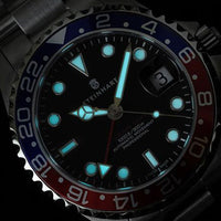 Ocean One 39 GMT Blue/Red