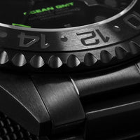 Ocean 1 GMT Phantom Green - Gnomon Exclusive