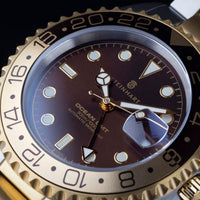 Ocean 1 GMT Two-tone Chocolate