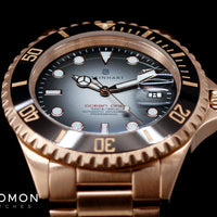 Ocean 1 Pink Gold Black Ceramic - Limited