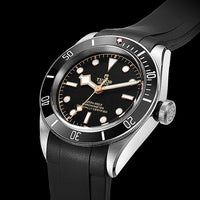 Tudor Black Bay Series (TD01) - Curved End Rubber Strap
