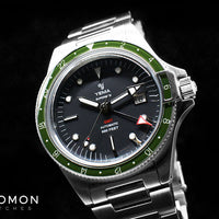 Superman GMT Khaki Green 41mm - Bracelet