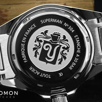Superman Heritage Blue 39mm - Bracelet