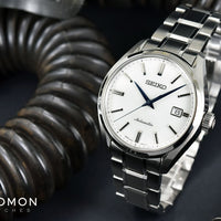 "Presage Automatic White ""Baby GS"" Ref. SARX033"