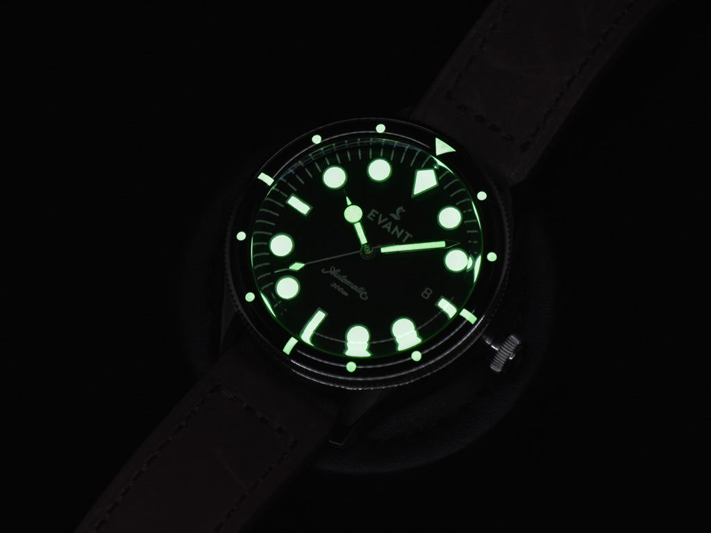 BGW9 SuperLuminova on the Tropic Diver 300