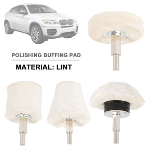 4X Polishing Buffing Pad Mop Wheel Drill Kit for Car Polisher Aluminum Stainless