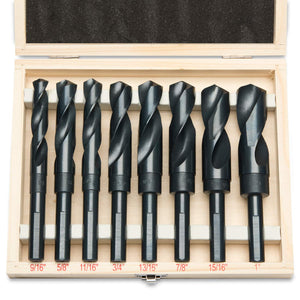 HSS Silver and Deming Industrial Drill Bit Set