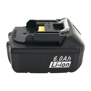3PCS BL1860 BL1850 Power Tool Replacement Batteries 18V 6000mAh Lithium ION for Makita Rechargeable Battery BL1830 BL1840 LXT400
