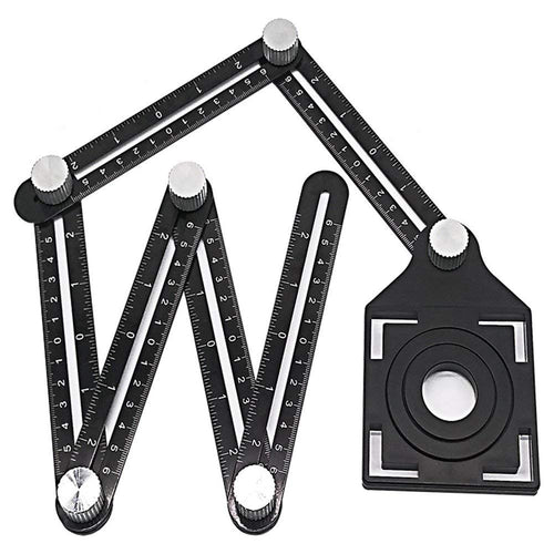 Six-Sided Aluminum Alloy Measuring localizer