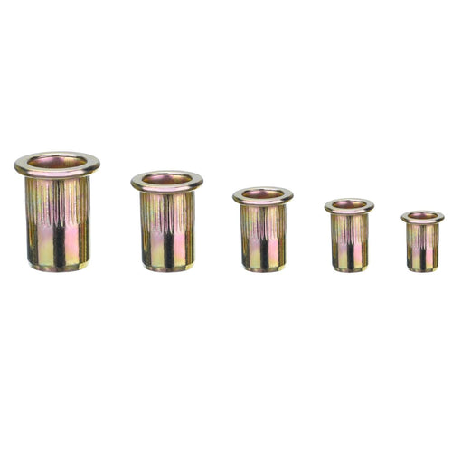 Zinc Plated Carbon Steel Rivet Nut Insert Nutsert