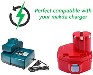 2PCS PA12 Rechargeable Battery 12V 3.0A Ni-MH for Makita Cordless screwdriver drills batteries 1220 1222 1233 1234 6317D 6217D