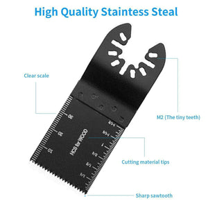 5 Pack Oscillating Tool Saw Blades for Cutting wood