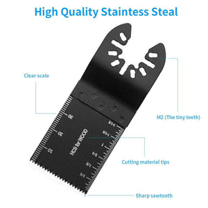 10 Pack Wood Oscillating Tool Saw Blades