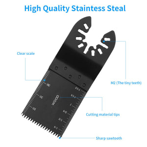 20 Pack Metal Wood Oscillating Multitool Saw Blades
