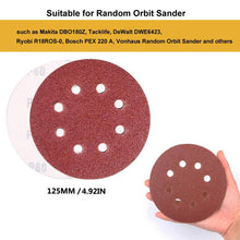 Load image into Gallery viewer, 80 Pack Sanding Discs Pads
