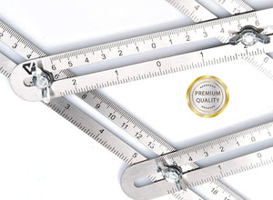 Stainless Steel Multi-Angle Ruler Tool