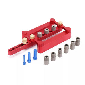 Self Centering Dowelling Jig Metric Dowel 6/8/10mm Drilling Tools