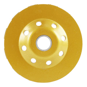 4-Inch Concrete Turbo Diamond Grinding Cup Wheel
