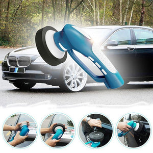 Jetcloudlive Handheld Electric Car Cleaner Machine Waterproof Tool Set US Plug(Blue)