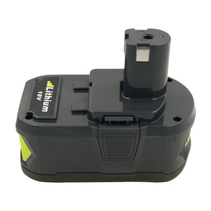 Cordless Drill Rechargeable Battery 4Ah Li-ion for Ryobi 18V Power Tools Replacement Battery RB18L40 RB18L50 P105 P107 P108 P100