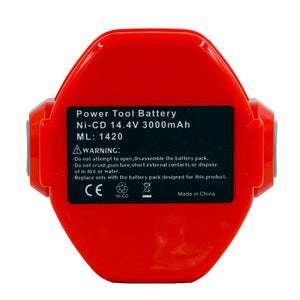 PA14 Power Tools Rechargeable Battery 3.0Ah Ni-CD for Makita 14.4V Cordless Drills screwdriver Battery 1420 1433 1434 1435 6337D