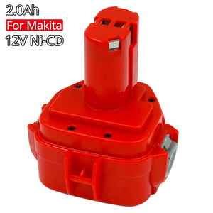 PA12 Cordless Drills Replacement Batteries 12V 2A Ni-Cd for Makita 12V battery 1220 1222 1234 1233 1235 Power Tools 6271D 6227D