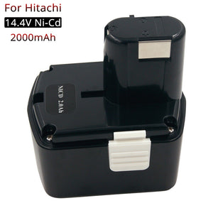 DS14DVF3 Cordless Power Tools Rechargeable Battery 14.4V 2000mAh Ni-CD for Hitachi 14.4V Battery EB1412S EB1414S EB1414 EB1426H