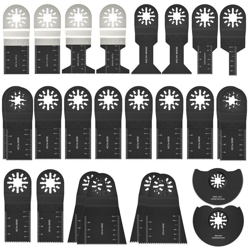 26Pcs Oscillating Multi Tool Saw Blade
