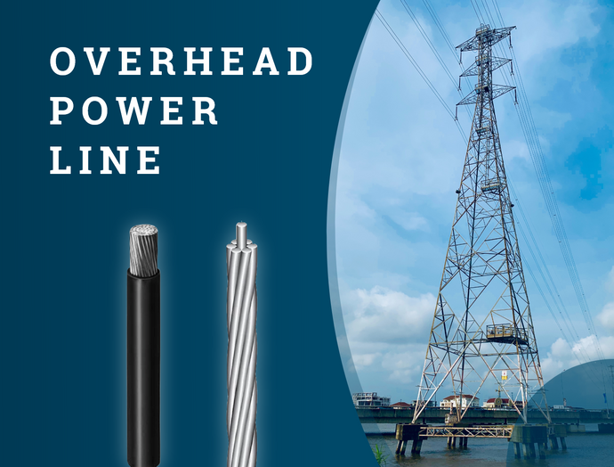 Why is aluminum used as an Overhead Cable?