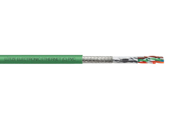 LÜTZE ELECTRONIC ETHERNET (C) PVC Network Cable Shielded
