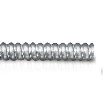 "7/16"" Trade Electri Heavy Wall Flexible Conduits Aluminum Alloy Type ABRH Non-Jacketed"