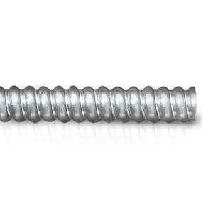 "3 1/2"" Trade Electri Helically Wound Flexible Conduits Galvanized Steel Type FSC Non-Jacketed"