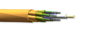 Corning 144T81-Y3191-24 144 Fiber OM4 Riser 50µm Multimode Extended 10G MIC Unitized Tight Buffered Cable