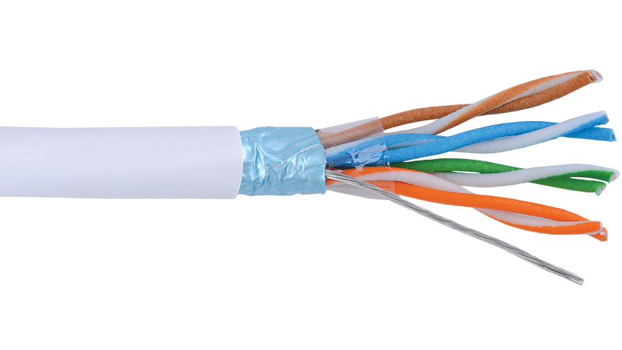 Alpha Wire Multi Pair Foil Shield FPP Insulation 300V Low Capacitance Manhattan Computer Cable
