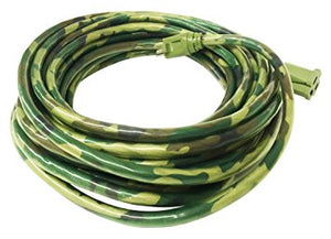 12 AWG 3 CONDUCTOR SJTW CAMOUFLAGE HEAVY DUTY EXTENSION CORD CABLE