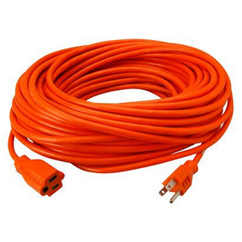 SJTW ORANGE CONTRACTOR GRADE EXTENSION CORD CABLE