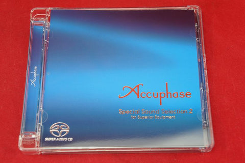 Accuphase Special Sound Selection 2 Audiophile Test CD SACD