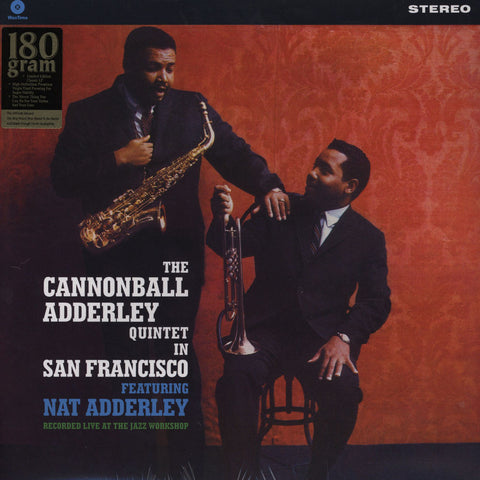 LP Adderley, Cannonball - In San Francisco (180G)