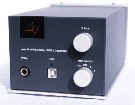 47 Laboratory Model 4733 Midnight Blue Pre/Headphone Amplifier