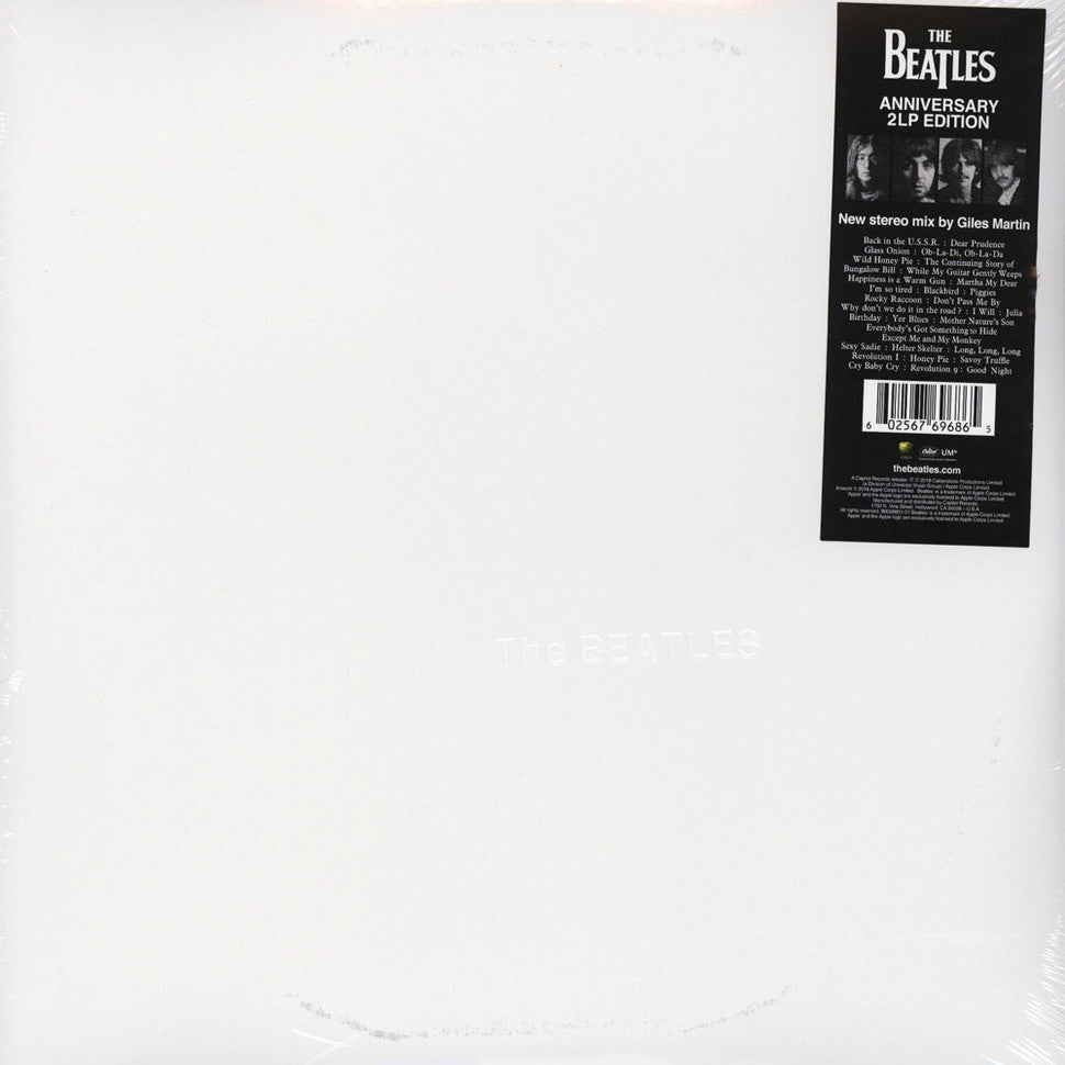 LP Beatles - White Album