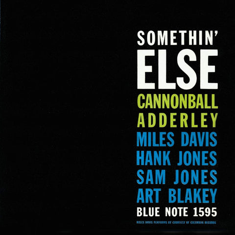 LP Adderley, Cannonball - Somethin Else (45RPM)