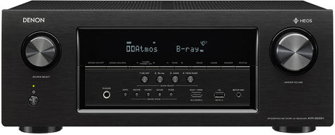 Denon AVR-S930H 7.2 Home Theater Receiver