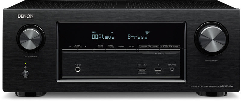 Denon AVR-X2300W 7.2 Home Theater Receiver