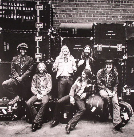 LP Allman Brothers - Live at the Fillmore East